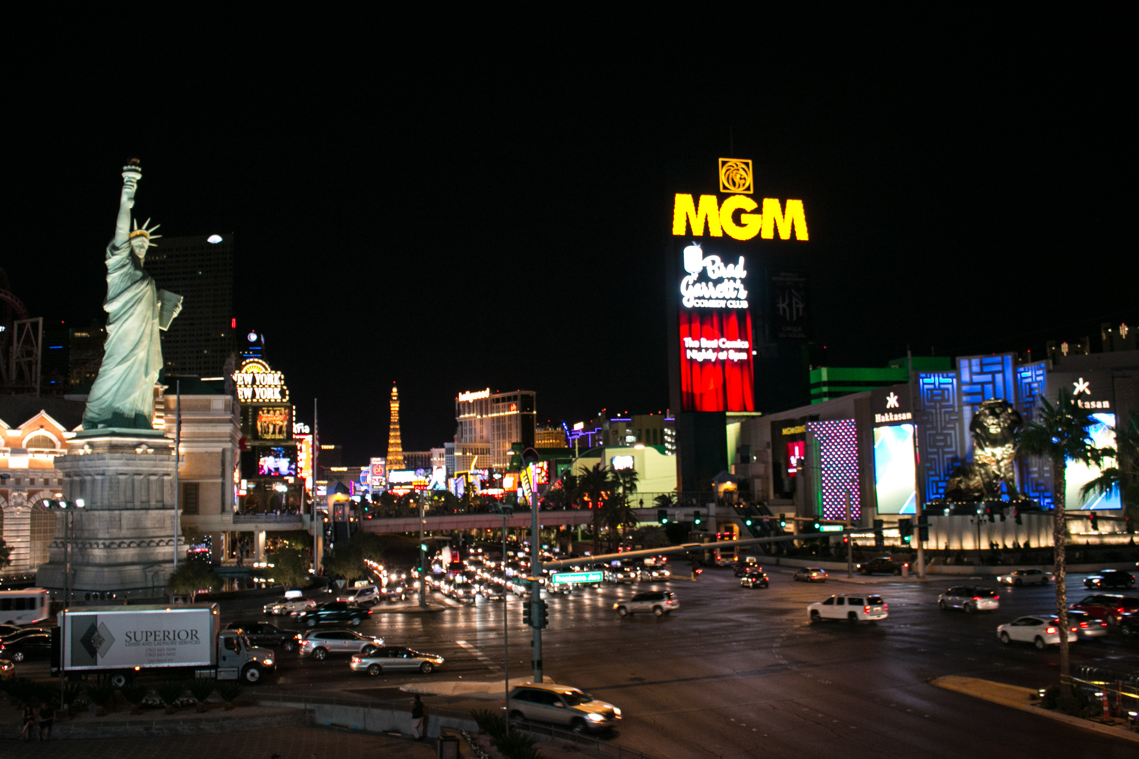 Las Vegas – The Strip and beyond – B is for bear  Your