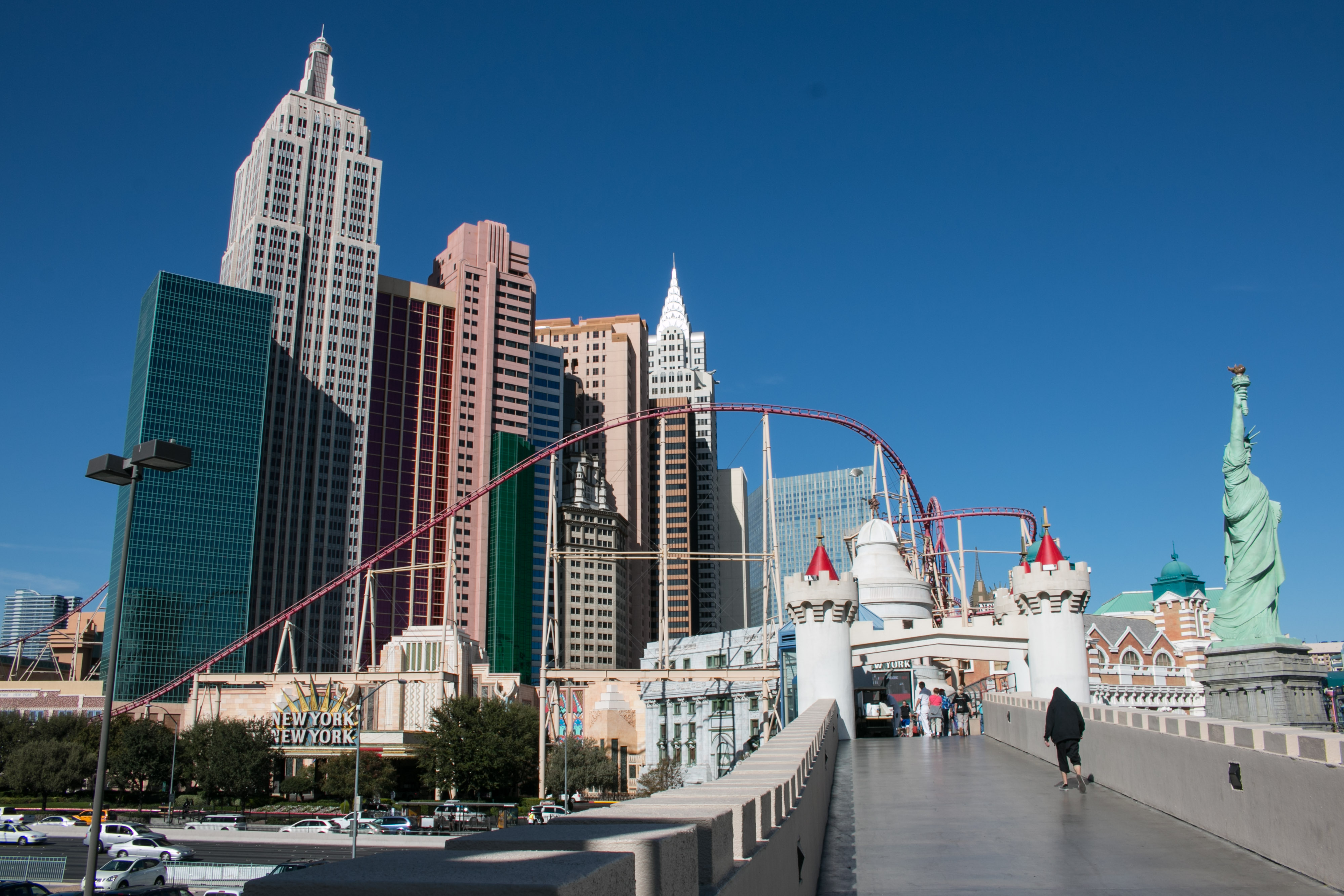 Las Vegas – The Strip and beyond – B is for bear  Your irregular