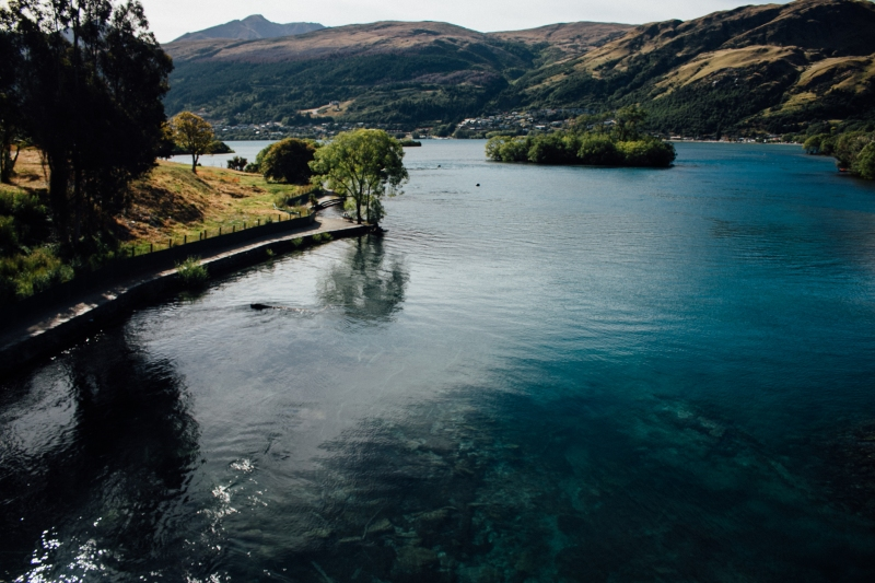 new zealand, south island, lake, queenstown
